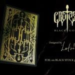 Baraja GROTESK MACABRE Edición BLACK GOLD. Papel metalizado donde quiera que mires