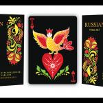 Baraja RUSSIAN FOLK ART Edición Limitada. Las cartas de la corte más rusas que nunca