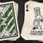 Naipes DAY OF THE DOLLS: Edición BOMBSHELL. Una auténtica bomba de bellezas ilustradas