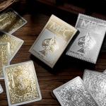 Naipes IMPRESSIONS ORO y PLATA. Las joyas de la corona de MPC