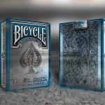 Naipes BICYCLE RIDER BACK METAL Edición AZUL. Una semana para el lanzamiento
