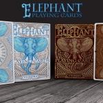 ELEPHANT Playing Cards. Un nuevo estándar con cuatro fuertes patas