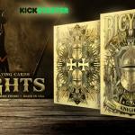 Naipes BICYCLE KNIGHTS. Equípate como es debido para una sangrienta batalla medieval