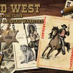 Naipes Wild West. Las barajas que cruzarán el Mississippi