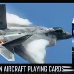 MODERN AIRCRAFT Playing Cards. Las poderosas máquinas voladoras despegan de nuevo