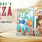 """Naipes PIZZA. La """"Passione"""" por una baraja apetitosa"""