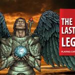 Naipes THE LAST LEGION. La lucha épica entre ángeles y hombres