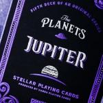 Naipes THE PLANETS: JUPITER. Cada vez más frío, cada vez más bello