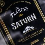 Naipes THE PLANETS: SATURN. La baraja planetaria con anillos