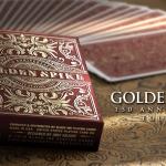Naipes GOLDEN SPIKE 150th ANNIVERSARY. El recuerdo de la hazaña de la comunicación y el transporte