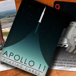 Naipes Apollo 11. Un gran salto para la humanidad