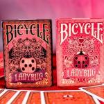 Naipes BICYCLE LADYBUG. Estos pequeños y encantadores bichos están por todas partes.