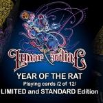 Naipes LUNAR AND ZODIAC: YEAR OF THE RAT. La segunda baraja del calendario lunar chino
