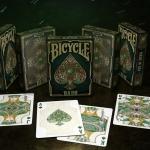 Naipes BICYCLE JADE. Una joya verde llena de magia y elegancia