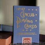 Naipes CIRCUS REPRODUCTION. Un espectáculo de finales del siglo XIX